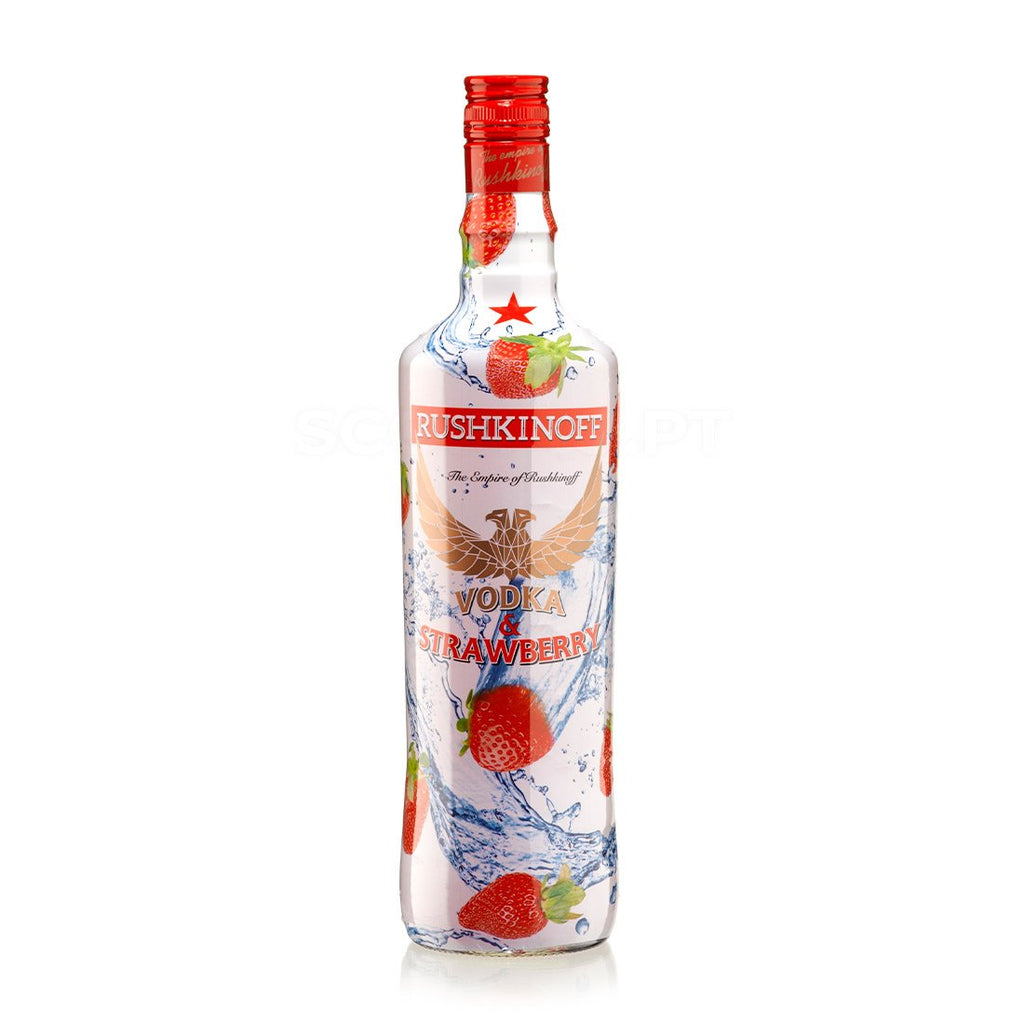 Vodka Rushkinoff Morango 1L