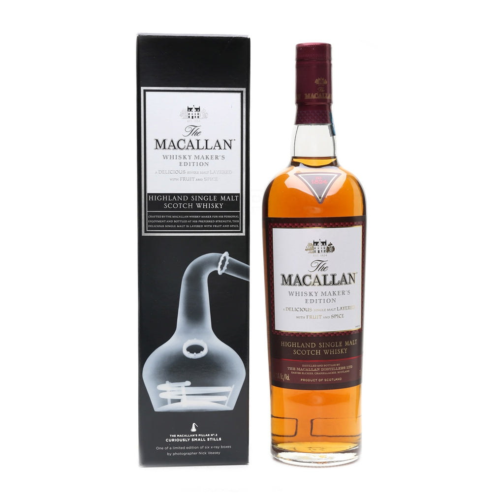 Macallan Whisky Makers Edition X-Ray 0.70L