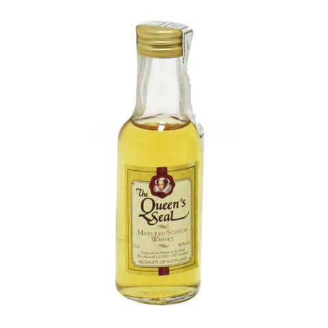 Miniatura Whisky Queen's Seal 0.05L