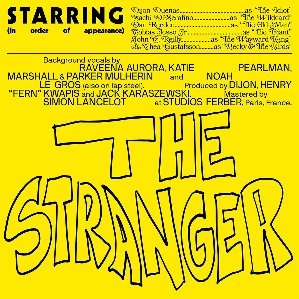 Dijon Taps John C. Reilly, Tobias Jesso, Jr. for New Song 'The Stranger' Folk song modeled after hip-hop posse cuts also boasts Sachi DiSerafino, Dan Reeder, Thea Gustafsson