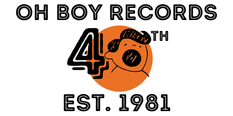 Here is the place to get everything Oh Boy Records. From Music to Merchandise, purchase directly from the label here!