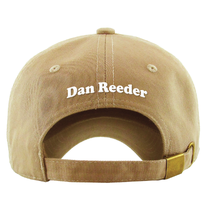 Dan Reeder Happy Dog Hat from Oh Boy Records
