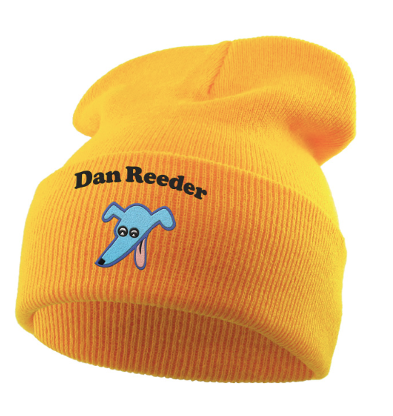 Dan Reeder Happy Dog Beanie - OH BOY RECORDS