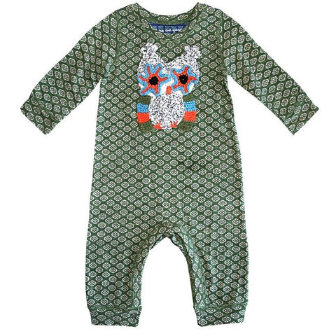 Happy Owl Romper by Mimi & Maggie