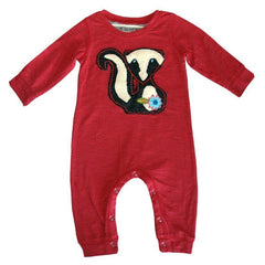 Baby Skunk Romper by Mimi & Maggie product