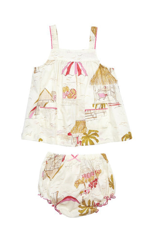 Surftown Baby 2 PC Set by Pink Chicken