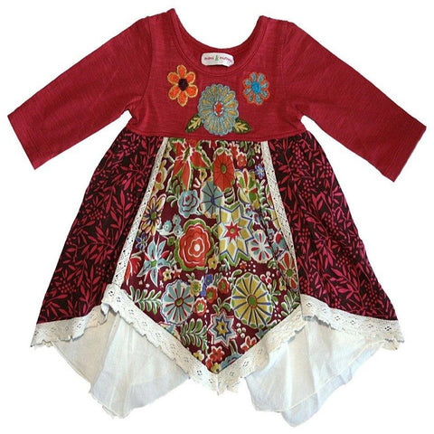 Going to Grandmas Dress (Baby) by Mimi & Maggie