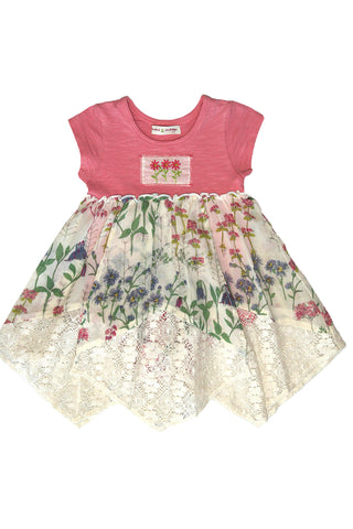 Lace Hankies Dress (Baby) by Mimi & Maggie