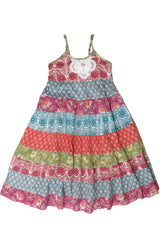 Toddler and Little Girl's Island Trader Floral Print Tiered Sundress by Mimi & Maggie product