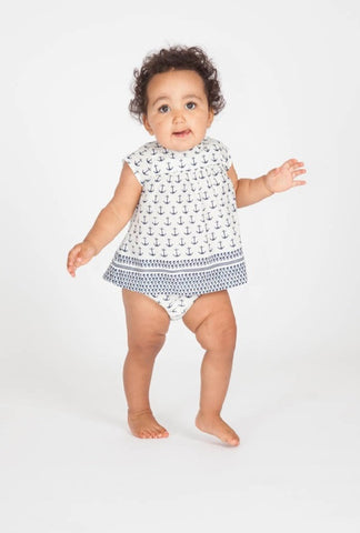 Marabelle Nautical 2 PC set (Baby) by Pink Chicken