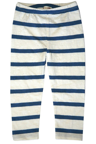 Sailor Stripe Capri Legging by Mimi & Maggie