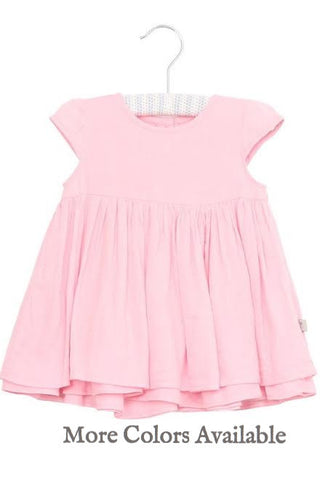 Peach Christel Baby Dress by Wheat (Baby)