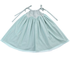Girl's sparkly tulle Rhiana Dress by Anais & I flat