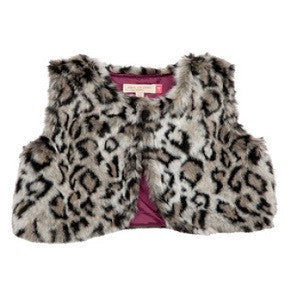 Fiona Fur Vest by Pink Chicken