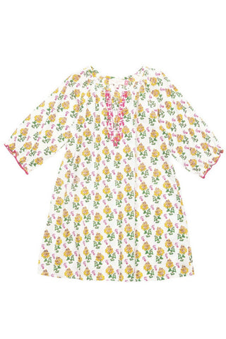 Indian Print Ava Tunic Dress by Pink Chicken