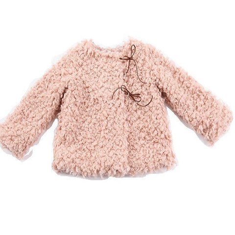 Pink Fuzzy Jacket by Anais & I