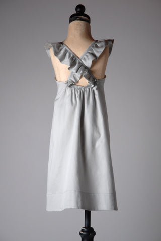 Emmy Lou Dress (Light Gray) by Sweet Cottontail