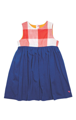 Gingham Megan Dress by Pink Chicken