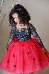 Red Magpie & Mabel Amelia Special Occasion Tutu Dress Front