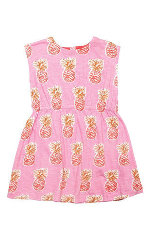 Pineapple Hadley Dress by Pink Chicken