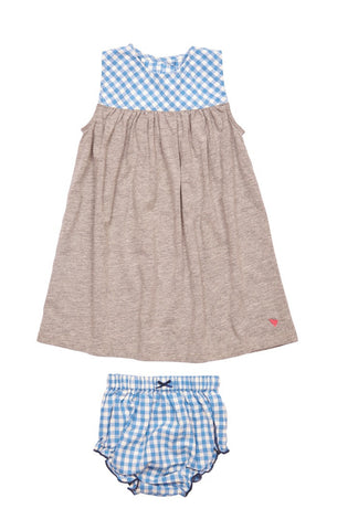 Riviera Gingham Baby 2 PC Set