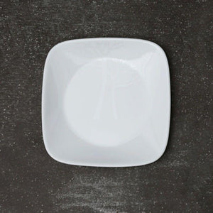 Corelle-4Pcs-Sq.Small Plate-Sq.Frost
