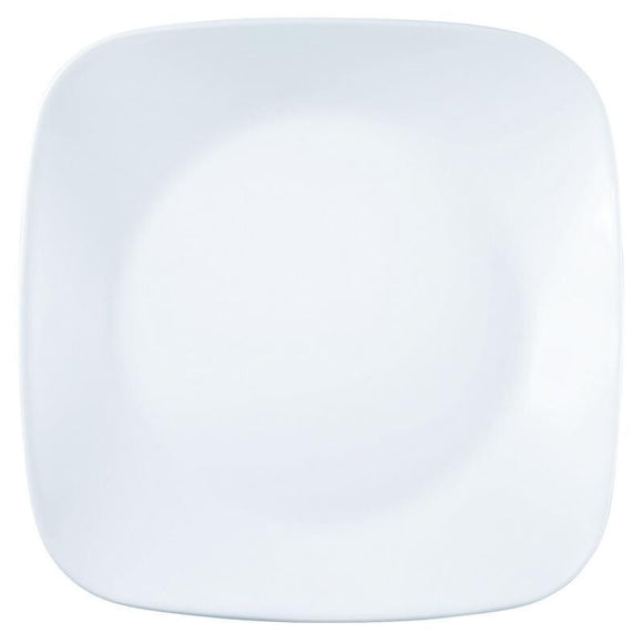 Corelle® Square Round WFW Winter Frost White Medium Plate