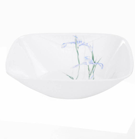 Corelle® Square Round Asia Shadow Iris Square Round 23oz Bowl