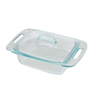 Pyrex-Easy Grab 2.0qt/1.9L Cassrole with  cover
