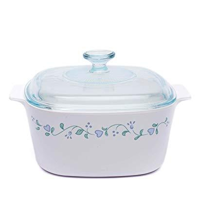 Corningware-3L Covered Casserole-Country Cottage-ES