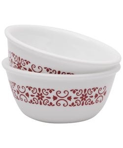Corelle® 2Pcs Katori Red Trellies