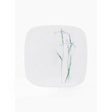 Corelle® Square Round Asia Shadow Iris Medium Plate