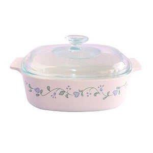 Corningware-2L Covered Casserole-Country Cottage-ES