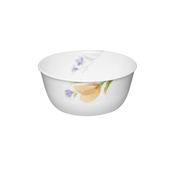 Corelle-4Pcs-Sq.Curry Bowl-Sq.Begonia