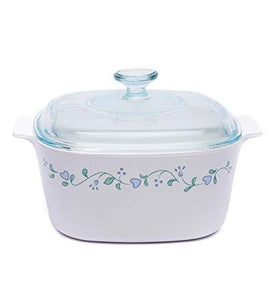 Corningware-5L Covered Casserole-Country Cottage-ES