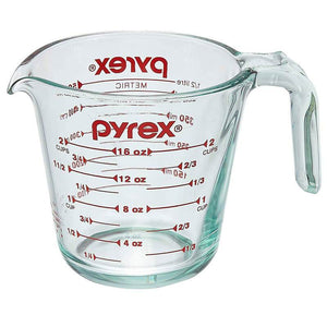Pyrex-Original 1pt/473ml Measuring Cup - Transparent