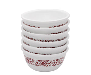 Corelle® 6Pcs Katori Red Trellies