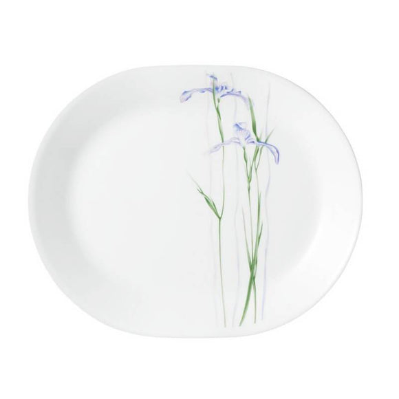 Corelle® Asia Collection Shadow Iris Serving/Rice platter