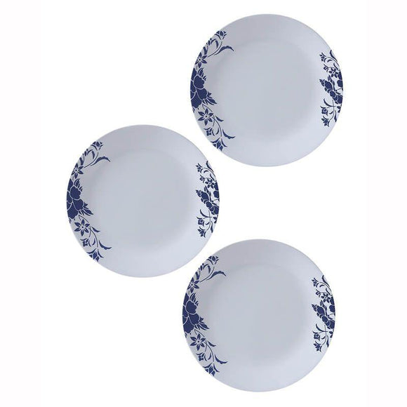 Corelle-3pcs-Medium Plate -Royal