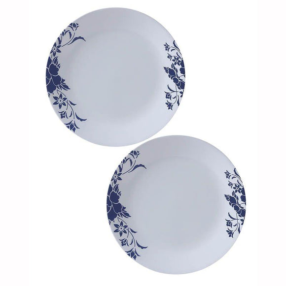 Corelle-2pcs-Medium Plate -Royal