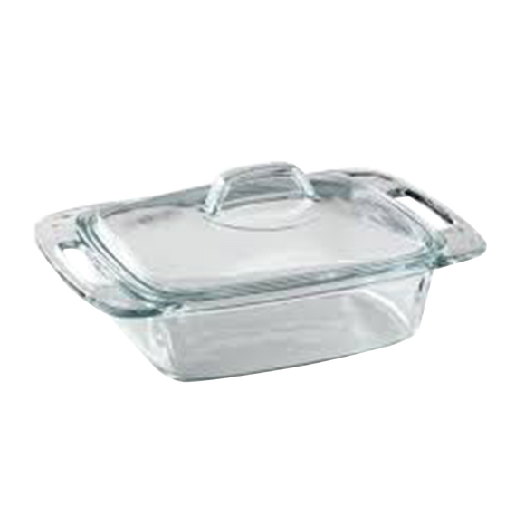 Pyrex-1.9 L Casserole with Cover