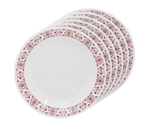 Corelle® 6Pcs Small Plate Red Trellies