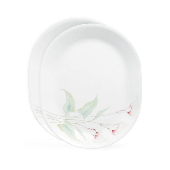 Corelle® Asia LillyVille Oval Serving Platter 2pcs