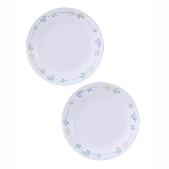 Corelle-2pcs-Medium Plate-Sec Garden