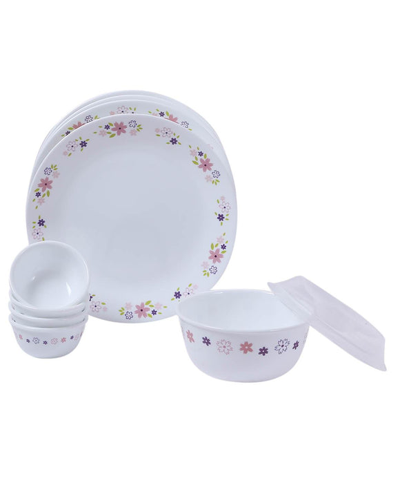 Corelle Livingware Floral Fantasy 10 Pcs Dinner Set