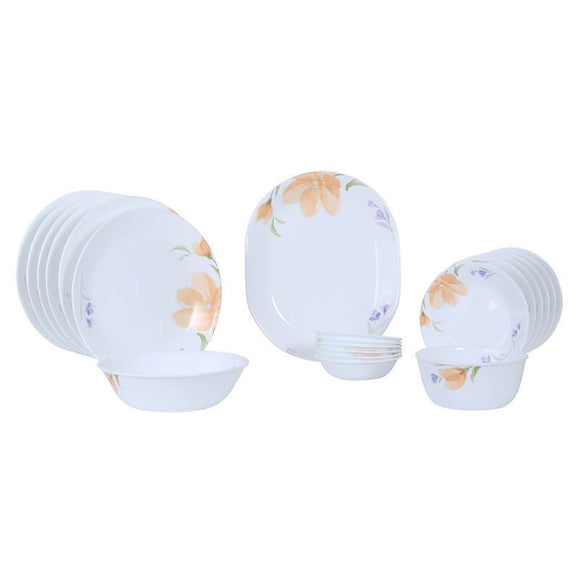 Corelle Asia Collection Begonia 21pcs Dinner Set