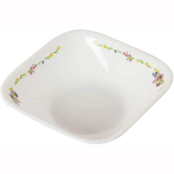 Corelle-3Pcs-Sq.Vegetable Bowl-Sq.Romantic Floral