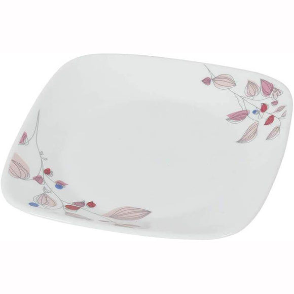 Corelle-4Pcs-Sq.Dinner Plate-Sq.Pink Breeze