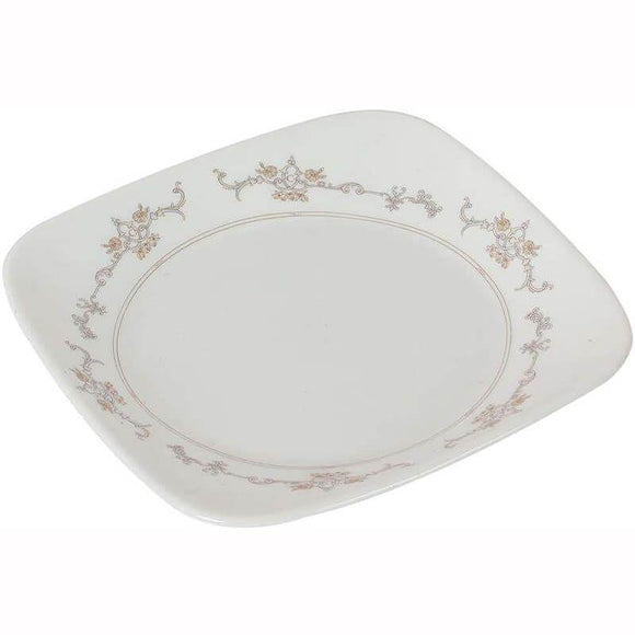Corelle-4Pcs-Sq.Small Plate-Sq.Imperial