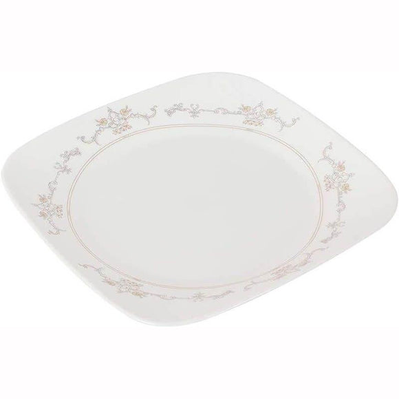 Corelle-2Pcs-Sq.Dinner Plate-Sq.Imperial